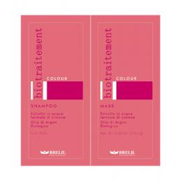 Brelil Bio Traitement Colour �ampon+maska na barven� vlasy cestovn� balen� 2x15ml