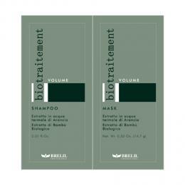 Brelil Volume objemový šampon+maska cestovní balení na jemné vlasy 2x15ml - zvìtšit obrázek