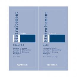 Brelil Bio Traitement Curly šampon+maska cestovní balení pro vlnité vlasy 2x15ml - zvìtšit obrázek