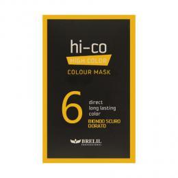 Brelil tónovací jednorázová maska HI-CO 6 - tmavá zlatá blond 30ml - zvìtšit obrázek