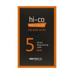 Brelil tónovací jednorázová maska HI-CO 5 - mìdìná 30ml