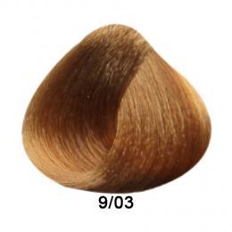 Brelil Prestige barva na vlasy 9/03 Teplá pøírodní velmi svìtlá blond 100ml - zvìtšit obrázek