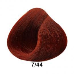 Brelil Prestige barva na vlasy 7/44 Blond intenzivnì mìdìná 100ml - zvìtšit obrázek