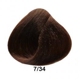 Brelil Prestige barva na vlasy 7/34 Zlatá mìdìná blond 100ml - zvìtšit obrázek