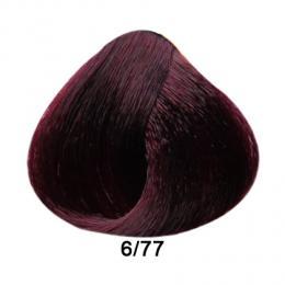 Brelil Prestige barva na vlasy 6/77 Tmavá blond intenzivnì fialová 100ml - zvìtšit obrázek