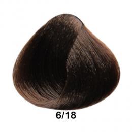 Brelil Prestige barva na vlasy 6/18 Tmavá blond choco ice 100ml - zvìtšit obrázek