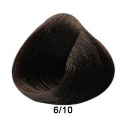 Brelil Prestige barva na vlasy 6/10 Tmavá blond popelavá 100ml - zvìtšit obrázek