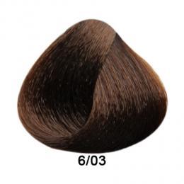 Brelil Prestige barva na vlasy 6/03 Teplá pøírodní tmavá blond 100ml - zvìtšit obrázek