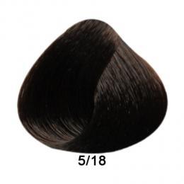 Brelil Prestige barva na vlasy 5/18 Svìtle kaštanová choco ice 100ml - zvìtšit obrázek