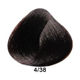 Brelil Prestige barva na vlasy 4/38 Ka�tanov� �okol�dov� 100ml