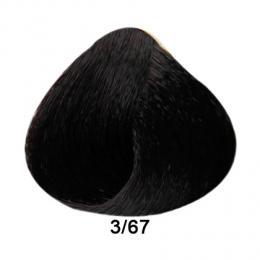 Brelil Prestige barva na vlasy 3/67 Tmav� hn�d� beaujolais 100ml