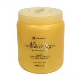 Brelil Cristalli di Argan hydrata�n� a regenera�n� maska na vlasy s bio-arganov�m olejem a ml�kem z aloe vera 1000ml