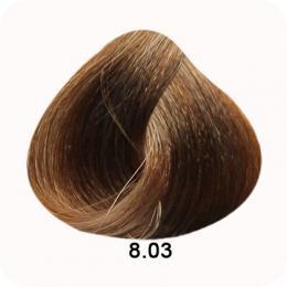 Brelil Colorianne barva na vlasy 8.03 Pøírodnì hedvábná svìtle blond 100ml - zvìtšit obrázek
