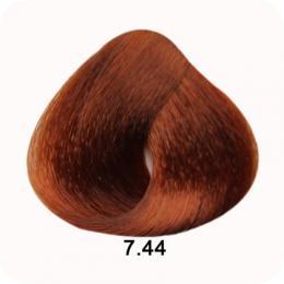 Brelil Colorianne barva na vlasy 7.44 Blond intenzivnì mìdìná 100ml - zvìtšit obrázek