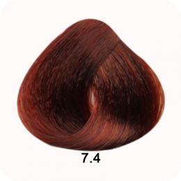 Brelil Colorianne barva na vlasy 7.4 Blond mìdìná 100ml - zvìtšit obrázek