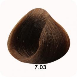 Brelil Colorianne barva na vlasy 7.03 Pøírodnì hedvábná blond 100ml - zvìtšit obrázek