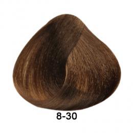 Brelil Essence barva na vlasy bez PPD, resorcinu, amoniaku a paraben� 8-30 Sv�tl� blond zlat� 100ml - zv�t�it obr�zek