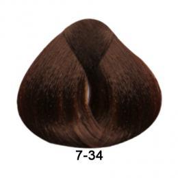 Brelil Essence barva na vlasy bez PPD, resorcinu, amoniaku a paraben� 7-34 Zlat� m�d�n� blond 100ml - zv�t�it obr�zek