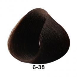 Brelil Essence barva na vlasy bez PPD, resorcinu, amoniaku a paraben� 6-38 Tmav� blond �okol�dov� 100ml - zv�t�it obr�zek
