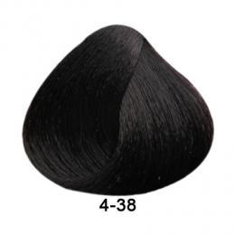 Brelil Essence barva na vlasy bez PPD, resorcinu, amoniaku a paraben� 4-38 Ka�tanov� �okol�dov� 100ml