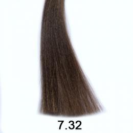 Brelil Shine bezèpavková olejová barva na vlasy 7.32 Béžový blond 60ml - zvìtšit obrázek
