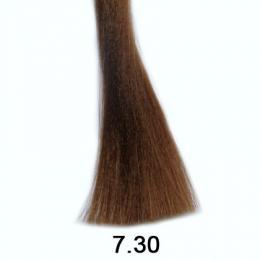 Brelil Shine bezèpavková olejová barva na vlasy 7.30 Pøírodní zlatavá blond 60ml - zvìtšit obrázek