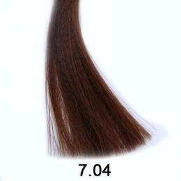 Brelil Shine bezèpavková olejová barva na vlasy 7.04 Pøírodní blond mìdìný 60ml - zvìtšit obrázek