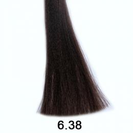 Brelil Shine bezèpavková olejová barva na vlasy 6.38 Oøíšková zlatavì èokoládová 60ml - zvìtšit obrázek