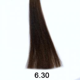 Brelil Shine bezèpavková olejová barva na vlasy 6.30 Tmavá zlatavá pøírodní blond 60ml - zvìtšit obrázek