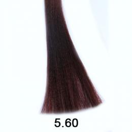 Brelil Shine bez�pavkov� olejov� barva na vlasy 5.60 Sv�tl� ka�tan �erven� 60ml