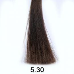 Brelil Shine bezèpavková olejová barva na vlasy 5.30 Pøírodní zlatavá svìtle kaštanová 60ml - zvìtšit obrázek