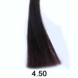 Brelil Shine bezèpavková olejová barva na vlasy 4.50 Kaštanová mahagonová 60ml