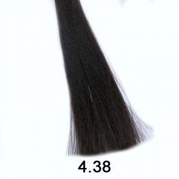 Brelil Shine bez�pavkov� olejov� barva na vlasy 4.38 Ka�tanov� zlatav� �okol�dov� 60ml