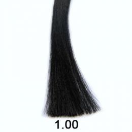 Brelil Shine bez�pavkov� olejov� barva na vlasy 1.00 �ern� 60ml