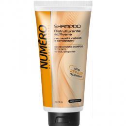 Brelil Numéro Avena restrukturaèní šampon s výtažky z ovesných vloèek 300ml