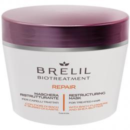Brelil Biotreatment Repair maska na poškozené vlasy 220ml