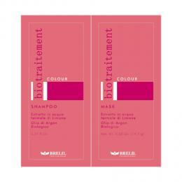 Brelil Bio Traitement Colour šampon+maska na barvené vlasy cestovní balení 2x15ml - zvìtšit obrázek