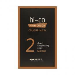 Brelil tónovací jednorázová maska HI-CO 2 - oøíšek 30ml