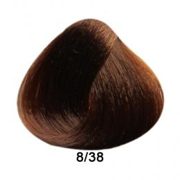 Brelil Prestige barva na vlasy 8/38 Svìtlá blond èokoládová 100ml - zvìtšit obrázek