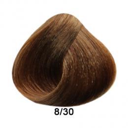 Brelil Prestige barva na vlasy 8/30 Svìtlá blond zlatá 100ml - zvìtšit obrázek