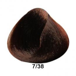Brelil Prestige barva na vlasy 7/38 Blond èokoládová 100ml - zvìtšit obrázek