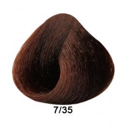 Brelil Prestige barva na vlasy 7/35 Blond hnìdá 100ml - zvìtšit obrázek