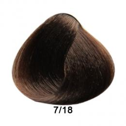 Brelil Prestige barva na vlasy 7/18 Blond choco ice 100ml - zvìtšit obrázek