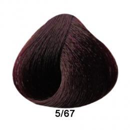 Brelil Prestige barva na vlasy 5/67 Svìtle hnìdá beaujolais 100ml - zvìtšit obrázek