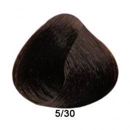 Brelil Prestige barva na vlasy 5/30 Svìtle kaštanová zlatá 100ml - zvìtšit obrázek