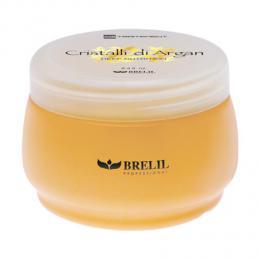 Brelil Cristalli di Argan hydrata�n� a regenera�n� maska na vlasy s bio-arganov�m olejem a ml�kem z aloe vera 250ml