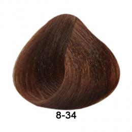 Brelil Essence barva na vlasy bez PPD, resorcinu, amoniaku a parabenù 8-34 Zatá mìdìná svìtle blond 100ml