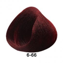 Brelil Essence barva na vlasy bez PPD, resorcinu, amoniaku a paraben� 6-66 Tmav� blond intenzivn� �erven� 100ml