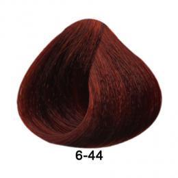Brelil Essence barva na vlasy bez PPD, resorcinu, amoniaku a parabenù 6-44 Tmavá blond intenzivnì mìdìná 100ml - zvìtšit obrázek