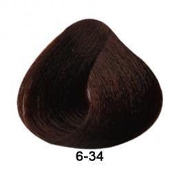 Brelil Essence barva na vlasy bez PPD, resorcinu, amoniaku a parabenù 6-34 Zlatá mìdìná tmavì blond 100ml